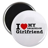 Cool Decathlon Girlfriend designs Magnet