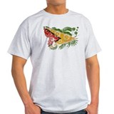 Guyana textured flower aged copy.png T-Shirt