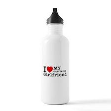 Cool Pole Vault Girlfriend designs Water Bottle