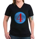 Number Four Birthday Shirt