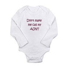 Funny New niece Long Sleeve Infant Bodysuit
