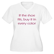 If The Shoe Fits Color T-Shirt