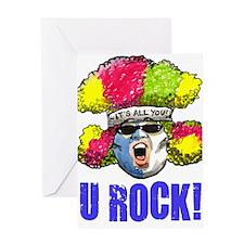 URock SuperFan Greeting Card