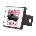 mustang fstbck Rectangular Hitch Cover