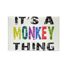 Monkey THING Rectangle Magnet