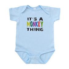 Monkey THING Infant Bodysuit