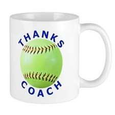 Softball Coach Thank You Unique Gifts Mug
