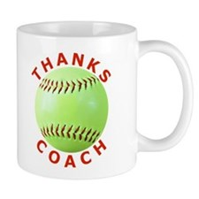 Softball Coach Thank You Unique Gifts Coffee Mug