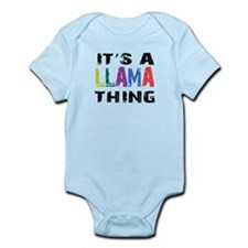 Llama THING Infant Bodysuit