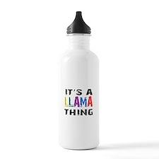 Llama THING Water Bottle