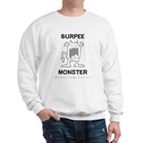 B MONSTER - White.psd Sweatshirt