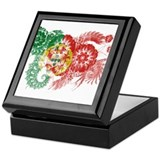 Portugal Flag Keepsake Box