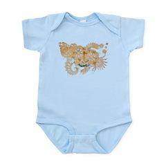 Rhode Island Flag Infant Bodysuit
