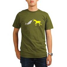 Narwhal Versus Unicorn T-Shirt