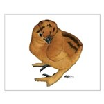 Red Silkie Chick Small Poster