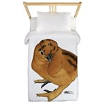 Red Silkie Chick Twin Duvet