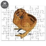 Red Silkie Chick Puzzle