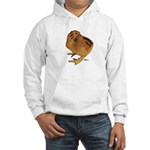 Red Silkie Chick Hooded Sweatshirt