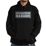 My Grandson is a Marine Hoodie