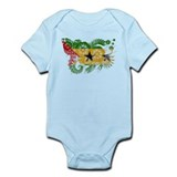 Sao Tome and Principe Flag Infant Bodysuit