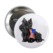 4th of July Scottie Button