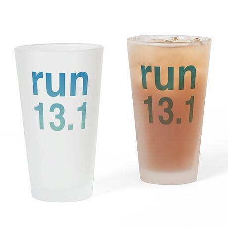 run13blue.psd Drinking Glass