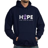 Purple Ribbon Hope Hoody