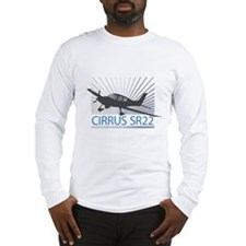 Aircraft Cirrus SR22 Long Sleeve T-Shirt