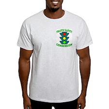 Traffic Commission Ash Grey T-Shirt