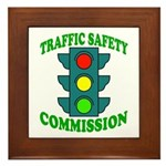 Traffic Commission Framed Tile