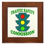 Traffic Commission Framed Tile