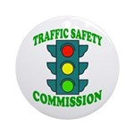 Traffic Commission Ornament (Round)
