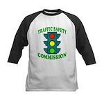 Traffic Commission Kids Baseball Jersey