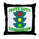 Traffic Commission Throw Pillow