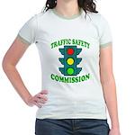 Traffic Commission Jr. Ringer T-Shirt