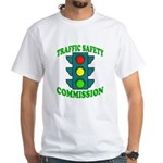 Traffic Commission White T-Shirt