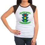 Traffic Commission Women's Cap Sleeve T-Shirt