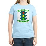 Traffic Commission Women's Pink T-Shirt