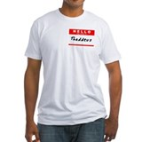 Thaddeus, Name Tag Sticker Shirt