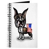 4th of July Boxer Journal