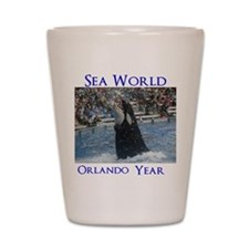 Sea World Shot Glass