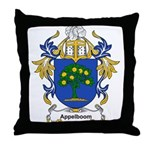 Appelboom Coat of Arms Throw Pillow