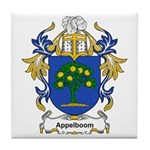 Appelboom Coat of Arms Tile Coaster