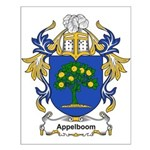 Appelboom Coat of Arms Small Poster