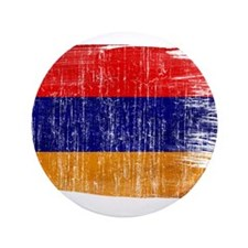 "Armenia Flag 3.5"" Button"