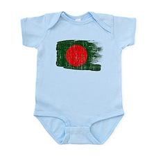 Bangladesh Flag Infant Bodysuit