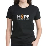 Orange Ribbon Hope Dark.png Tee
