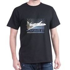 Aircraft Corporate Jet T-Shirt