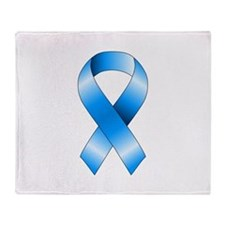 Blue Ribbon Throw Blanket