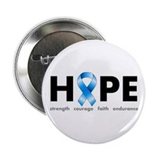 "Blue Ribbon Hope 2.25"" Button"